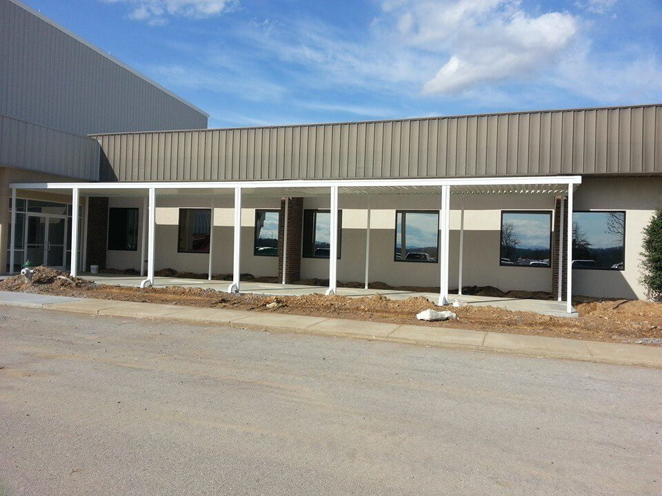Aluminum Awnings - Interstate Awning & Sign, LLC